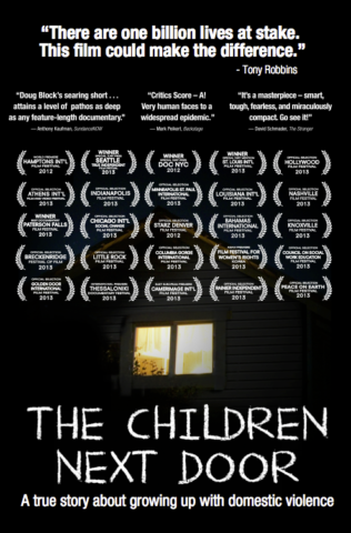 Our Award-Winning Documentary about Children and Domestic Violence Makes International Debut